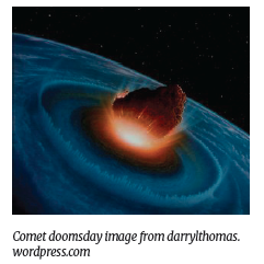 Comet doomsday image from darrylthomas. wordpress.com