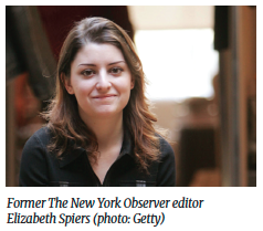 Former The New York Observer editor Elizabeth Spiers (photo: Getty)