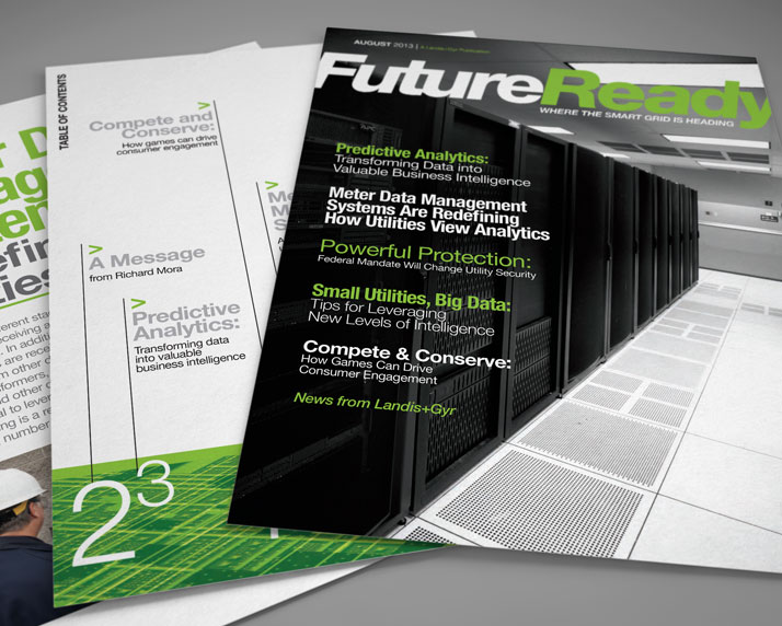 Digital and Printed Magazine